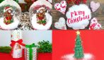 4 DIY Christmas decorations perfect for breathing the magic of Christmas at home!