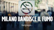 Milano, sigarette vietate all'aperto dal 1 gennaio 2021: ecco tutte le novità