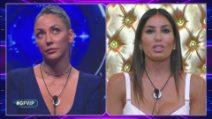 """Al GF Vip faccia a faccia tra Elisabetta Gregoraci e Selvaggia Roma: """"Falsa"""", """"Aggressiva"""""""