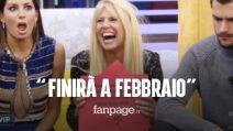 """Grande Fratello Vip 2020, Signorini comunica: """"GF si allunga fino a Febbraio"""". I Vip: """"Così no"""""""
