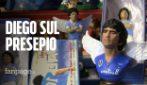 Natale a San Gregorio Armeno: la via dei presepi di Napoli 'riapre' nel segno di Maradona