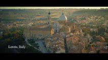 """Andrea Bocelli nel Santuario di Loreto per la clip di """"Ave Maria"""""""
