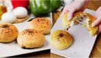 Panini ripieni: il trucco per prepararli con una schiumarola!