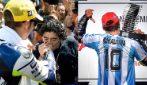Quando Maradona rese omaggio a Valentino Rossi: il commovente ricordo