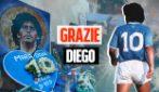 """Maradona è stato un figlio, un fratello, un amico. Napoli in coro: """"Grazie Diego"""""""
