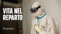 """Catania, tra i malati nel reparto Covid del Garibaldi: """"È troppo brutto, mettetevi le mascherine"""""""