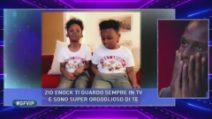 Grande Fratello VIP - Enock e i suoi nipoti
