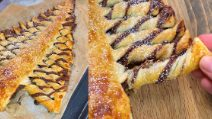Puff pastry Christmas tree: everyone will love this idea!