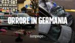 Germania, auto sui pedoni in centro: almeno 4 morti e decine di feriti
