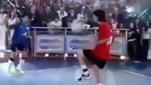 Quando Maradona e Messi diedero spettacolo a calcio tennis