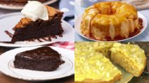 4 Delicious flourless desserts quick and easy to prepare!