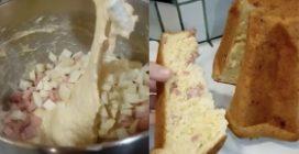 Pandoro salato fatto in casa: la ricetta saporita e semplice da preparare