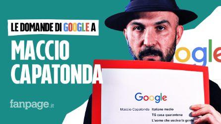Maccio Capatonda libro, film, Canalis, fidanzata, Mario: l'attore risponde alle domande di Google