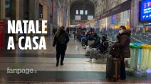 """Milano, ultimi giorni per spostarsi ma nessuna folla in stazione: """"Voglio riabbracciare la famiglia"""""""