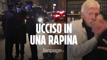 Milano, ginecologo ucciso in una rapina con una coltellata alla gola: rilievi sul luogo del delitto