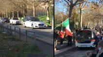 Paolo Rossi, l'arrivo del feretro allo stadio Curi per l'ultimo omaggio