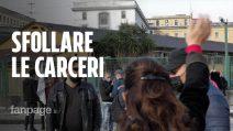"""Napoli, giornata di solidarietà per i detenuti fuori Poggioreale: """"Sovraffollamento male cronico"""""""