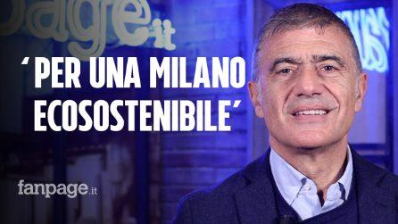 """Milano ecosostenibile, Pecoraro Scanio: """"Sosteniamo il Sindaco Beppe Sala"""""""