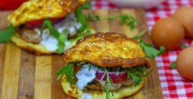Burger di uova: la ricetta light, ma piena di sapore!