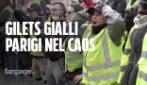 Gilets gialli sugli Champs-Elysées a Parigi: la polizia usa proiettili di gomma