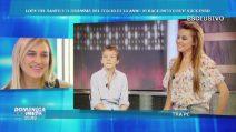 Il piccolo Loren con mamma Lory Del Santo, la showgirl rivede le immagini del suo bambino