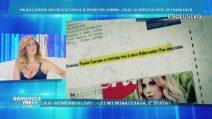 Domenica Live, Paola Caruso: dalla gioia della gravidanza alle accuse a Francesco Caserta