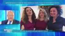 Tutte le donne di Massimo Boldi a Domenica Live, la sorpresa delle figlie