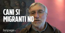 """Vescovo di Caltagirone: """"Abbandonare i cani per strada è reato, abbandonare i migranti è legge""""."""