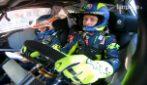 Un giro sulla Ford Fiesta WRC Plus di Valentino Rossi