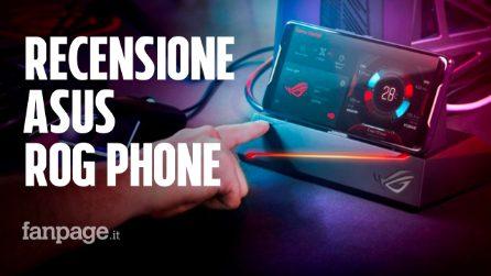 Recensione Asus ROG Phone, lo smartphone da gaming più potente (e personalizzabile) al mondo