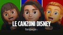 Le canzoni dei personaggi Disney (cantate dalle Memoji)