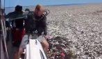 Un mare di plastica: il desolante scenario a largo delle coste dell'Honduras