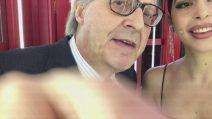 Domenica Live - La #cabinarossa di Vittorio Sgarbi