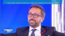 Alfonso Bonafede sulla prescrizione a Domenica Live