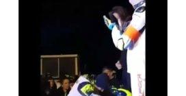 100 km dei Campioni, Rossi fatica a salire sul podio