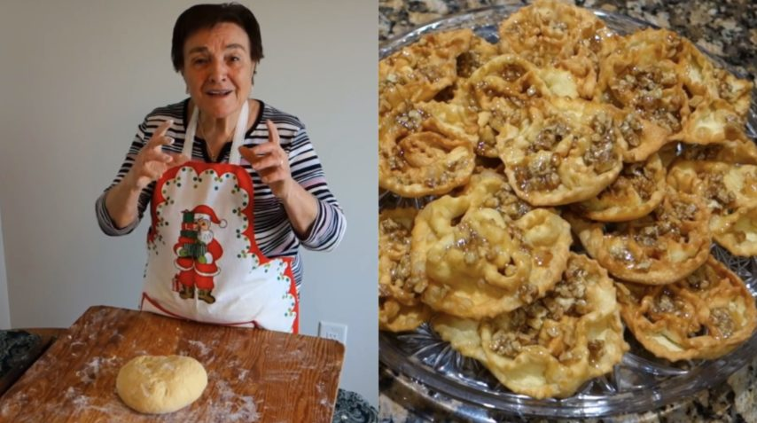 Nonna Gina Prepara Le Cartellate I Dolci Natalizi E Saporiti
