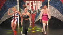 Grande Fratello Vip 2018, Silvia, Benedetta e Giulia nei panni delle 'Spice Girls'