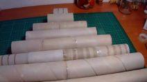 Come fare un albero di Natale con i rotoli di carta da cucina