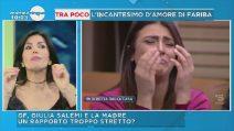 """Mattino Cinque, Fariba Tehrani: """"Non ho ancora visto Giulia Salemi, è scossa"""""""