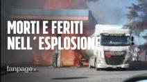"""Esplosione distributore Rieti, il racconto di un superstite: """"Ero lì, mi sono ritrovato a terra"""""""