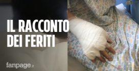 """Esplosione Rieti, il racconto dei feriti: """"Ci siamo ritrovati in una palla di fuoco"""""""