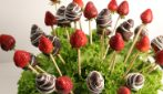 How to make an edible Chocolate strawberry bouquet!