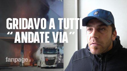 """Esplosione Rieti, il racconto del benzinaio: """"Ho cercato di avvisare tutti, ma non mi ascoltavano"""""""