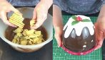 Tortino di Natale al cioccolato: provate questo fantastico dessert senza cottura
