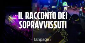 """Ancona, strage al concerto di Sfera Ebbasta: """"Un mio amico è morto, eravamo troppi"""""""