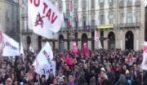 No Tav, folla a Torino per la manifestazione contro l'Alta Velocità