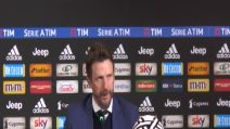 """Roma, Di Francesco: """"Classifica corta un vantaggio, Champions vicina"""""""