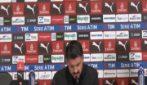 """Milan, Gattuso: """"Spaccare tavolini non serve. Serve tranquillità"""""""