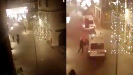 Strasburgo, sparatoria tra attentatore e polizia