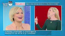 """Mattino Cinque, Simona Ventura: """"Quando vado via per lavoro Caterina la vive male"""""""